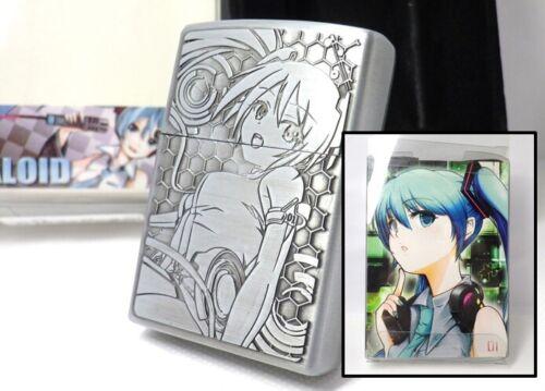 VOCALOID Hatsune Miku Amusement Prize Oil Lighter Unfired Rare         090208c88