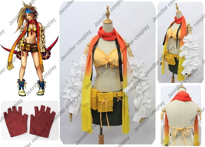 Final Fantasy X-2 Rikku Cosplay Costume