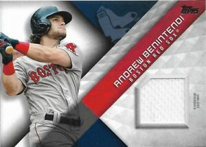 2018 Topps Major League Materials Andrew Benintendi Red Sox