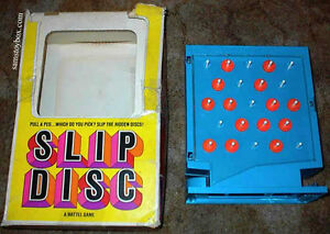 Wanted: Mattel Slip Disc game