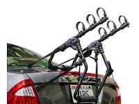 3 Bike Rear Cycle Car Rack Carrier Saris Sentinel BIKE RACK FOR 3 BIKES