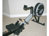 Concept 2 rowing machine model c