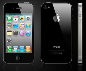 Mint Condition iPhone 4 (Black)-(Rogers)8GB=$79