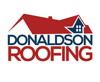 Donaldson Roofing: Sloped Specialists.  New, Re-Roof or Repair.