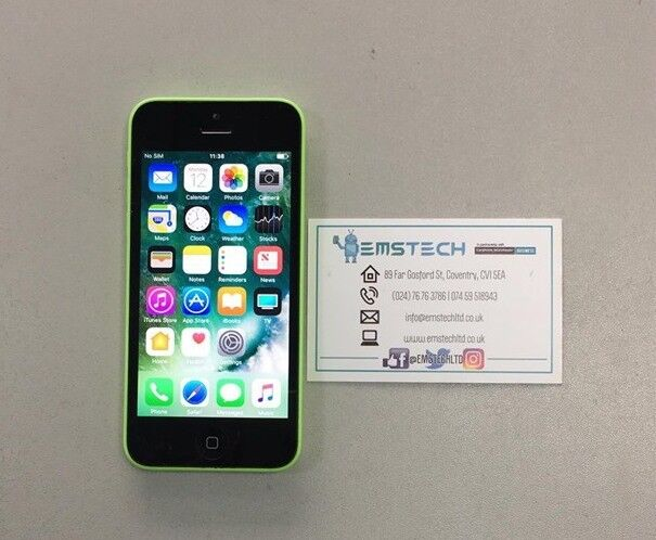 Apple iPhone 5C 8GB Unlocked Receipt Provided - Green