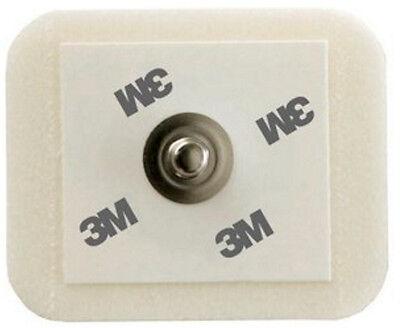 3m 2228 Foam Monitoring Ecg Electrode W Tape Sticky Gel 1.57x1.3 - Pack100