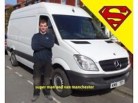 Man and van services Manchester, House moves, Flat moves, Single items, Commercial, Industrial
