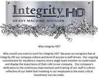 Integrity HD Hiring Operators and Entry Level