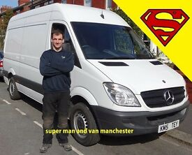 👍Man with a Van for Hire in Chorlton, Stretford, Trafford Park, Salford, Eccles, Urmston, Timperley