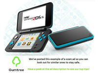 Nintendo 2DS XL -- Read the description before replying to this ad!!