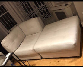 Bargain! Cream sofa