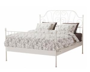 Ikea king bed frame (LERIVIK)