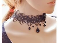 New Lace Chocker Necklace Women Party Pendant