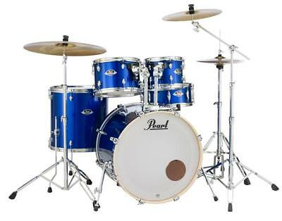 Pearl Export Series 5-Piece Drum Set w/ 830 Series Hardware, High Voltage Blue