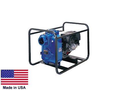 Trash Pump Commercial Indust - 13 Hp Honda - 44 Psi - 36000 Gph - 4 Ports