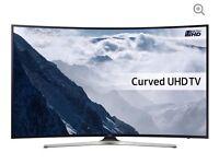 "49"" Curved SAMSUNG LED TV Smart 4K ! Ultra HD HDR UE49KU6100"