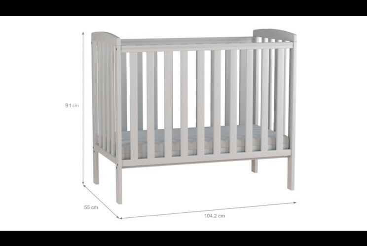 separation shoes 47ca5 c6545 Rafferty Compact Cot | in Leicester, Leicestershire | Gumtree