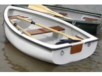 Wanted rowing boat dinghy tender punt