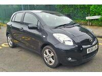 Toyota Yaris, Black Colour, 2010 year, black 5 door petrol Quick SALE