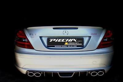 Piecha RS Heckdiffusor für  Mercedes SLK R171