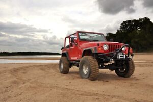 New Stock Replacement Jeep Wrangler TJ Fenders 1997-2006