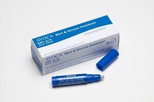 Avoca Wart & Verruca Human Treatment Silver Nitrate 95% Caustic Pencil Full Kit