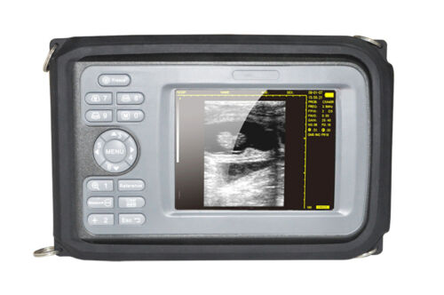 Portable Digital Veterinary Ultrasound Scanner Machine Animal Sensor Probe Case - $920.00