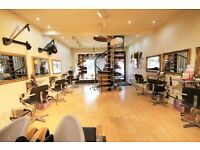 PROFESSIONAL HAIR AND BEAUTY SALON BARBER SHOP AVAILABLE FOR RENT WITH EQUIPMENT BOLTON TOWN CENTRE