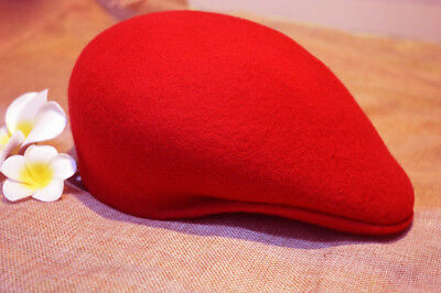 Unsex men's/woman/s 100% woolFelt Flat cap Newsboy Hunting Cabbie Hat](Cheap Black Fedora Hats)