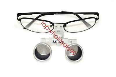 Red Dentist Dental Surgical Medical Binocular Loupe Ce Iso13485