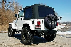 Rough Country Soft Top - Jeep Wrangler TJ Black Denim BRAND NEW