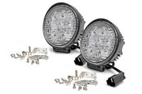 NEW Pair Round LED Offroad/Driving Light Set w/Wiring Harness