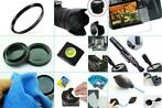 10 in 1 accessories kit: Canon 250D + EF-S 18-55mm DC