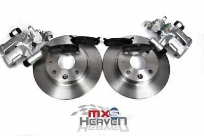 Mazda MX5 MK1 1.6 Brake Discs, Pads & Calipers - Rear Set 1989>98