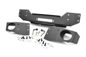 Rough Country Front Hybrid Stubby Winch Bumper Jeep Wrangler JK