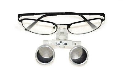 Best Dental Surgical Medical Binocular Loupes 3.5x 320mm Optical Glass Loupe