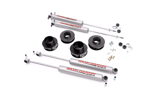 Two Inch Rough Country Lift for 1999 to 2004 Jeep WJ