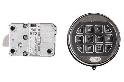 La Gard Lg Basic Ii Digital Keypad Electronic Lock Gun Any Safe Chrome Repl Sg
