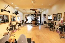 PROFESSIONAL HAIRDRESSER OR BARBER SALON AVAILABLE FOR RENT WITH EQUIPMENT BOLTON TOWN CENTRE