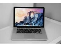 "MacBook Pro 15""4inch 500GB HD 4 GB Ram OS X EI Capitan for sale"