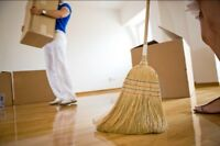 Move Out Home Cleanings AVAILABLE NOW