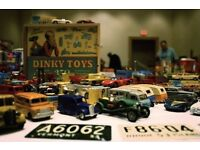 [WANTED] Looking for old vintage toys & packaging - Corgi records Dinky Hornby die cast collections