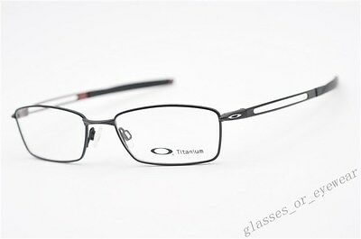 Eyeglass Frames-Oakley COIN OX5071-0154 Satin Black 54mm Titanium Glasses Specs