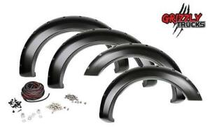 HOLIDAY SEASON SALE !!! GRIZZLY FENDER FLARES !! Pocket Style ----- IN STOCK!! ONLY $315 !!!