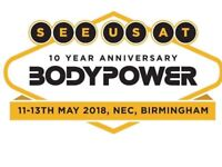 2 tickets to Body Power Saturday 12th May