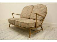 Mid Century 1960's Ercol Windsor Two Seater