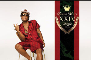 2BRUNO MARS TICKETS