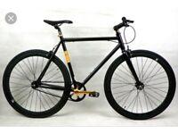 Very fast no logo bike