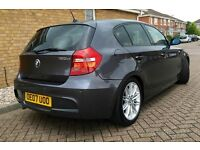 Fully loaded 2007 BMW 120d M Sport Automatic - Sat Nav - Idrive - 118d 123d 320d