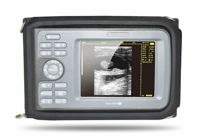 Portable Ultrasound Scannermachine Convex Transducer For Human 100 Warranty